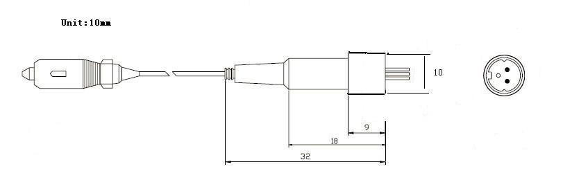 is0203 激光接收管原理电路图